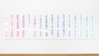 Activity Tableau (2000-2015), screen print on archival paper, each: 24 x 130 cm, 2016